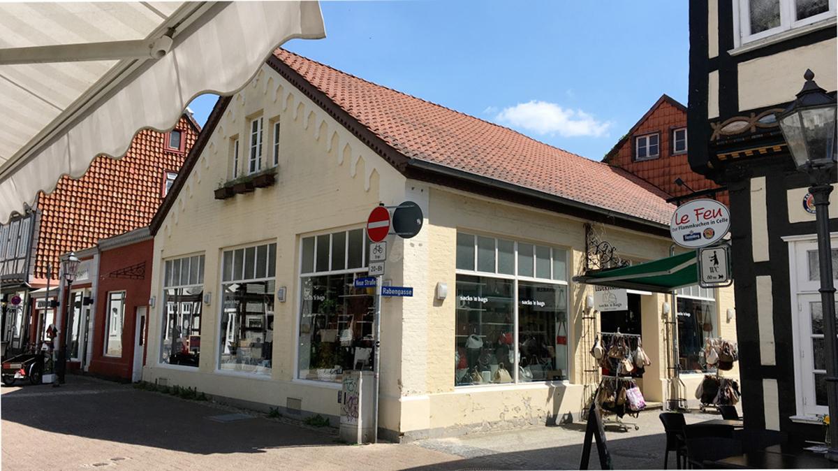 Schönes Ladengeschäft in interessanter Ecklage in Celler Innenstadt